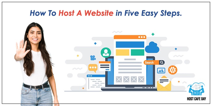 Host A Website in Five Easy Steps